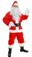 10 Piece Father Xmas Costume (ILFD4554)